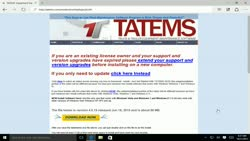 Download TATEMS Installation File Below | TATEMS Fleet